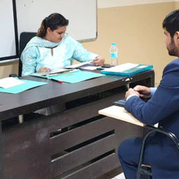 Mock Interview Sessions With Students Of UPES